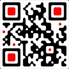 QR-код с закругленными углами